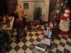 Getting my dollhouse ready for Christmas