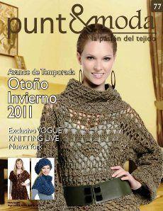 """Photo from album """"punto& moda on Yandex. Gilet Crochet, Crochet Jacket, Crochet Stitches, Knit Crochet, Vogue Knitting, Loom Knitting, Knitting Magazine, Crochet Magazine, Moda Crochet"""