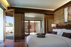 One Bedroom Pool Villa at the Chedi Club Tanah Gajah #Bali #GHMhotels
