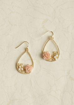 Amesbury Embellished Earrings | Modern Vintage Jewelry