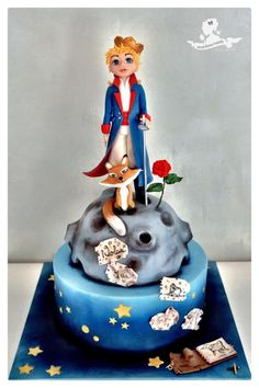 The Little Prince - Cake by Mademoiselle