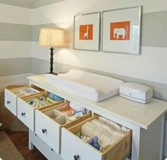 storage furniture and nursery decorating ideas