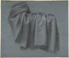 Pierre Paul Prud'hon | Study of Drapery | The Met