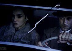 Farida Khelfa & Vincent Perez by Peter Lindbergh, Vogue Italia Editorial Stills From A Movie, July 2011 Shot #7