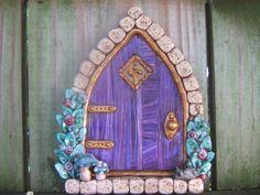 Purple Dreams Fairy Door Pixie Portal