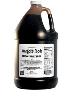 Brown Stirfry Sauce  1 Gallon Net Wt86 Lbs ** Want additional info? Click on the image.