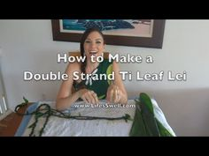 How to Make Ti Leaf Lei – Single/Double Strand & Roses! Ribbon Lei, Ribbon Candy, Ribbon Crafts, Fabric Ribbon, Graduation Leis, High School Graduation, Romantic Vacations, Romantic Travel, White Dendrobium Orchids
