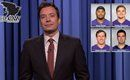 NFL superlatives from Jimmy Fallon. Joe Flacco was called a 'Metrosexual Frankenstein' and Phillip Supernaw is Justin Timberlake's love child.