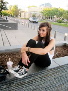 Black #Converse #Chucks Chuck Taylor low-tops; #tennis shoes; #trainers; #sneakers