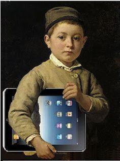 Schulknabe (Schoolboy) by Albert Samuel Anker ,a Swiss Artist)