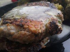 PaleOMG – Paleo Recipes – Cilantro Salmon Burgers with a Cilantro Lime Vinaigrette