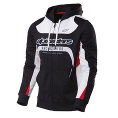 Sweat Alpinestars Zippé Session Fleece Black