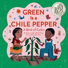 Pura Belpré Award, Illustrator Honor  Latino Book Award, Winner    Green is a chile pepper, spicy and hot. Green is cilantro inside our pot. In this lively picture book, children discover a world of colors all around them: red is spices and swirling skirts, yellow is masa, tortillas, and sweet corn cake. Many of the featured objects are Latino in origin, but all are universal in appeal. With rich, boisterous illustrations, a fun-to-read rhyming text, and an informative glossary, this playful…