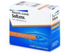 SofLens Toric čoček) - Bausch and Lomb Soft Contact Lenses, Personal Care, Personal Hygiene