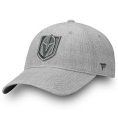 5acfe63f520ef Men s Vegas Golden Knights Fanatics Branded Gray Team Haze Adjustable  Snapback Hat