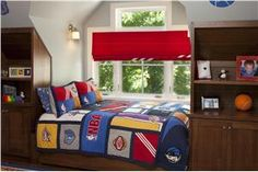 Contemporary (Modern, Retro) Kid's Room by Tineke Triggs