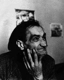 Antonin Artaud - Eén van de laatste foto's
