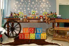 Toy Story birthday party! See more party planning ideas at CatchMyParty.com!