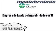 Empresa de Laudo de Insalubridade em SP - Med solution