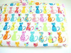 Michael Miller Calico Cat Fabric. $10.00, via Etsy.