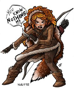 Ygritte is such an awesome character.
