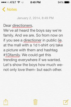 Post to every board! Love you guys. Xx  Any Directioners in STL? who shop in west county or chesterfield????