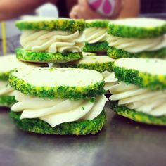 Margarita cookies with a key lime icing center from Kupcakes & Co in Elkridge, MD! Yummmmm!