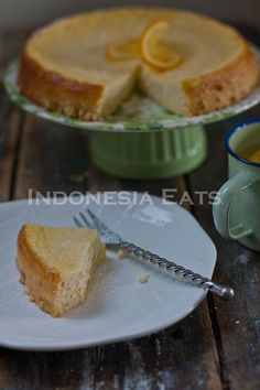 Lemon Meyer Ricotta Cheesecake