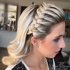 Tiara Hairstyles, Party Hairstyles, Braided Hairstyles, Wedding Hairstyles, Cool Hairstyles, Wedding Braids, Wedding Hair Pins, Bridal Hair, How To Make Hair