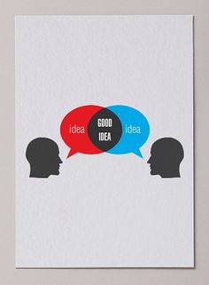 Nice venn diagram there... Good Idea visual ID by Miguel Angélus Batista at Coroflot.com