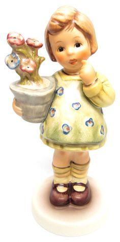 "MI Hummel Goebel Figurine ""My Wish Is Small"" Hum 463 TMK 7 with Box"