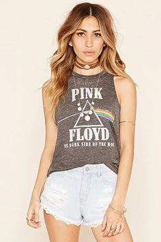Pink Floyd Muscle Tee @forever21