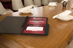 With the Check 1-2, customers can pay the bill however they'd like to, whether it be splitting the bill, only paying for certain items or just paying off the entire bill with a swipe of their card.