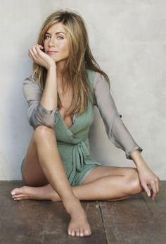 Jennifer Aniston underwear. Sunday morning with coffee.