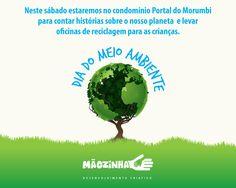 Post de Facebook para Projeto Mãozinha - Dia do meio ambiente no Portal do Morumbi