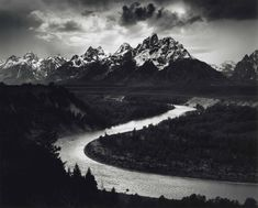 Ansel Adams (1902–1984) | The Tetons and the Snake River, Grand Teton National Park, Wyoming, 1942 | Photographs, United States of America | Christie's