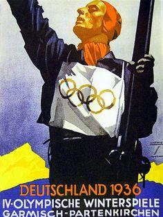 #Hohlwein 1936 Olympics #volkisch