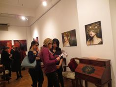 """OCTOBER 3 - NOVEMBER 4, 2014 Exhibition and """"Halloween Masquerade"""" Fete and Gala Champagne Reception October 9, 2014"""