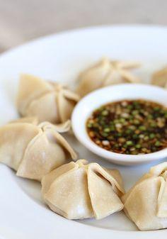 Five Spice Chicken-Lemongrass Dumplings