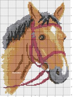 Diy Crafts - DIY & crafts projects, contents and more - Diy Crafts Boys Vintage Sweater Diy Crafts 154881674655166522 P Cross Stitch Horse, Cross Stitch Animals, Cross Stitch Charts, Cross Stitch Designs, Cross Stitch Patterns, Christmas Embroidery Patterns, Horse Pattern, Knitting Charts, Plastic Canvas Patterns