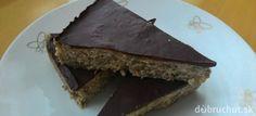 Kokosové musli tyčinky s čokoládou | Dobruchut.sk