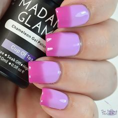 madam glam cup of tea swatch