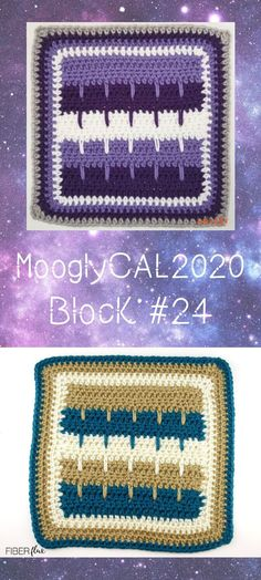 MooglyCAL2020 Block 23 is a fun and fast square by Fiber Flux! This pattern is quick, fun, and a great last square for the year! #mooglycal2020 #mooglycal #crochetalong #mooglyblog #freecrochetpatterns #crochetsquares #yarnspirations #redheartwithlove