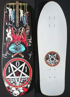 Natas Kaupas 101 devil worshiper deck