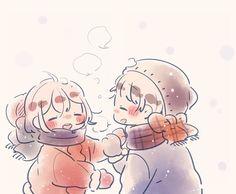 ┗┃kisawa┃┓【sundo ni naru】『alice cafe』●F. Cute Cartoon Drawings, Cute Couple Drawings, Kawaii Drawings, Easy Drawings, Cute Anime Chibi, Kawaii Chibi, Anime Love, Cute Chibi Couple, Pop Art Wallpaper