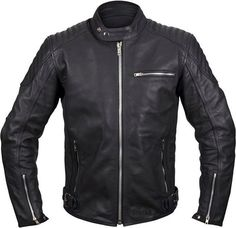5ea6659ba1670 Weise Spirit Leather Jacket - Black from the UK s leading online bike  store. Free UK delivery over and easy returns on our range of over products.