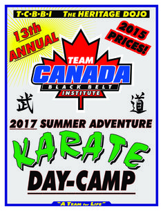 Summer Camp Guide for Durham and the GTA Durham Region, Day Camp, Karate, A Team, Camping, Summer, Campsite, Summer Time, Campers