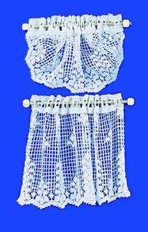 Curtain+Country+Crochet+Lace+-+White+|+Mary's+Dollhouse+Miniatures