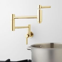 Kitchen Faucets 300mm Sporting Pot Filler Kitchen Sink Faucet Wok Faucet Wall Mounted Pot Filler Faucet Kitchen Fixtures