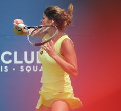 One of my favourite pictures of the day! :D @juliagoerges #RogersCup